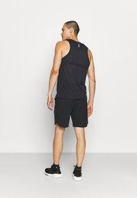 Under Armour - PROJECT ROCK SNAP SHORTS - Pantalón corto de deporte - black - 2