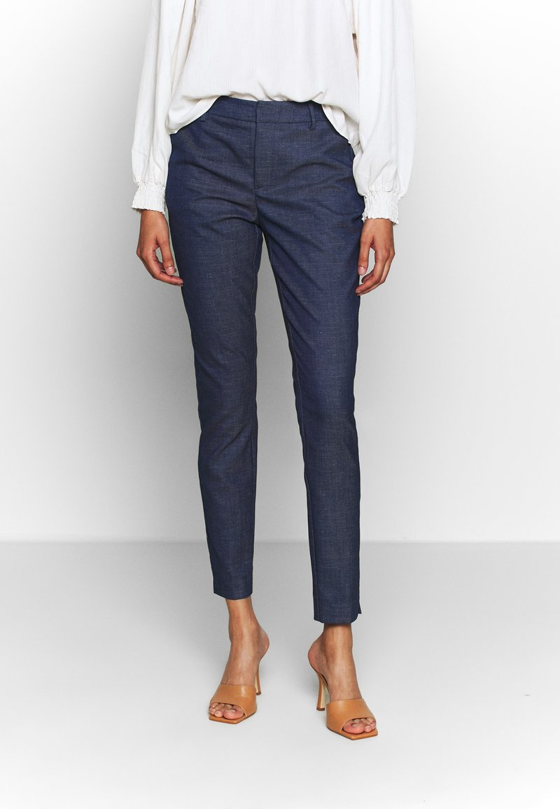 Mos Mosh - ABBEY MARLY PANT - Trousers - dark blue
