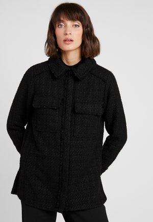 GELLY - Zimní kabát - black