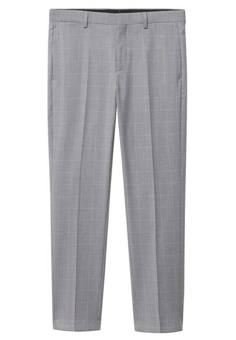 Uomo KARIERTE SUPER SLIM FIT - Pantaloni eleganti