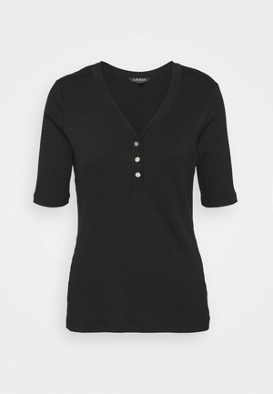MARYTT - Print T-shirt - polo black