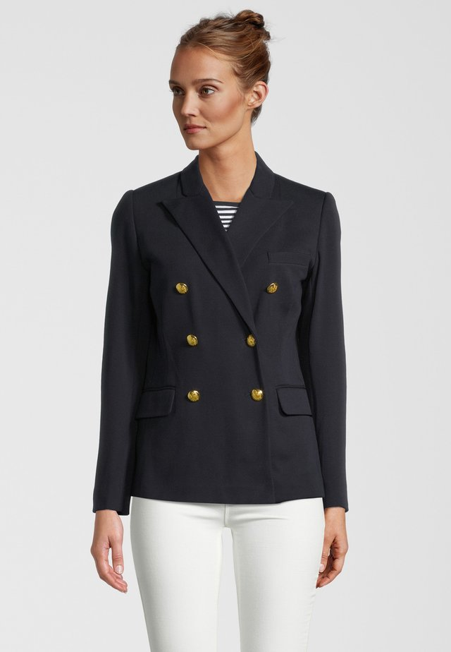 Blazer - navy/gold buttons