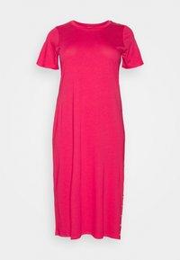 Jersey dress - geranium