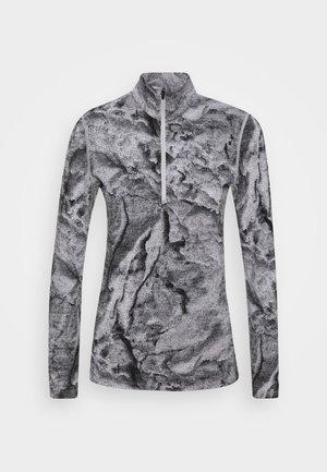 250 VERTEX HALF ZIP - Langærmede T-shirts - snow