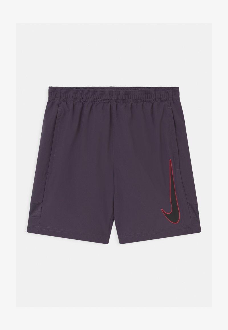 Nike Performance - ACADEMY UNISEX - Sports shorts - dark raisin/black