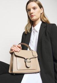 Coach - TABBY TOP HANDLE - Handbag - taupe - 0