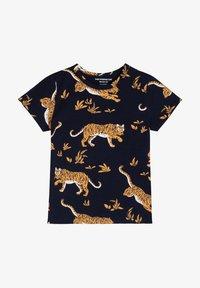 The Striped Cat - CLASSIC TIGER - T-shirt print - navy - 0