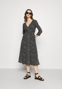 ONLY - ONLPELLA DRESS - Jersey dress - black - 1