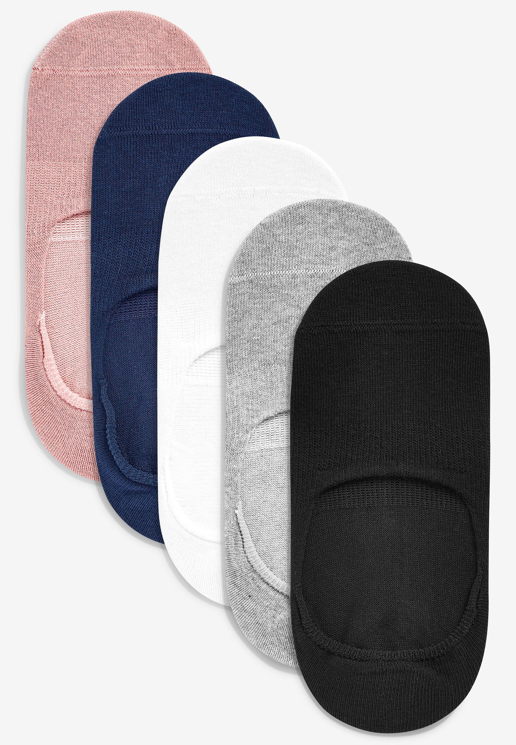 Femme MULTI INVISIBLE TRAINER SOCKS FIVE PACK - Chaussettes