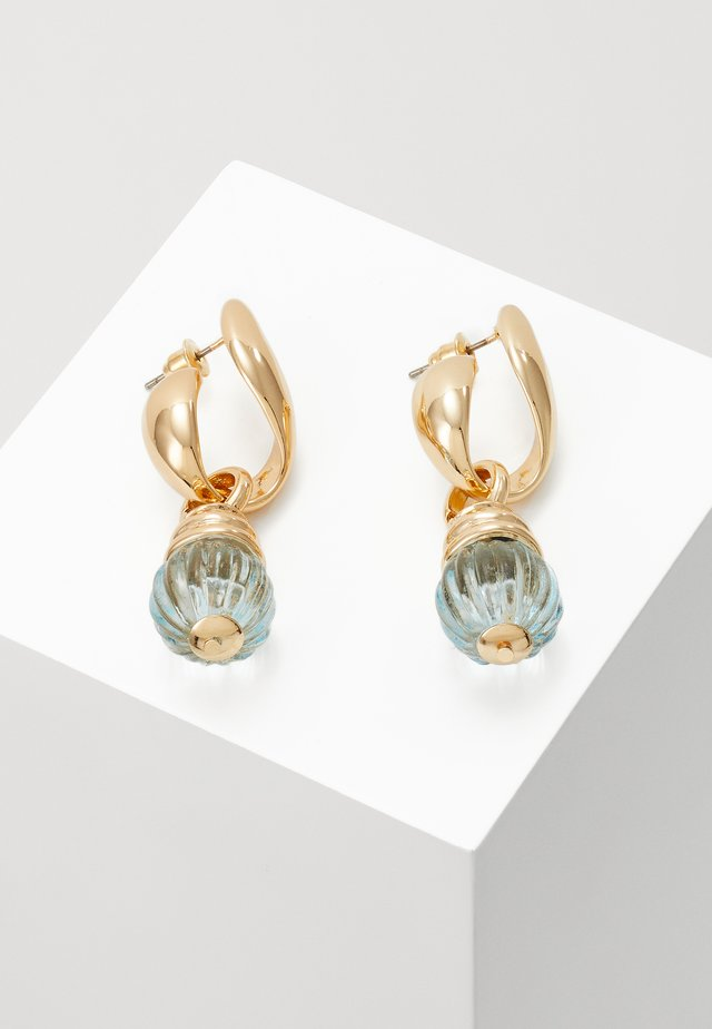 MINI BALL HOOPS - Boucles d'oreilles - gold-coloured