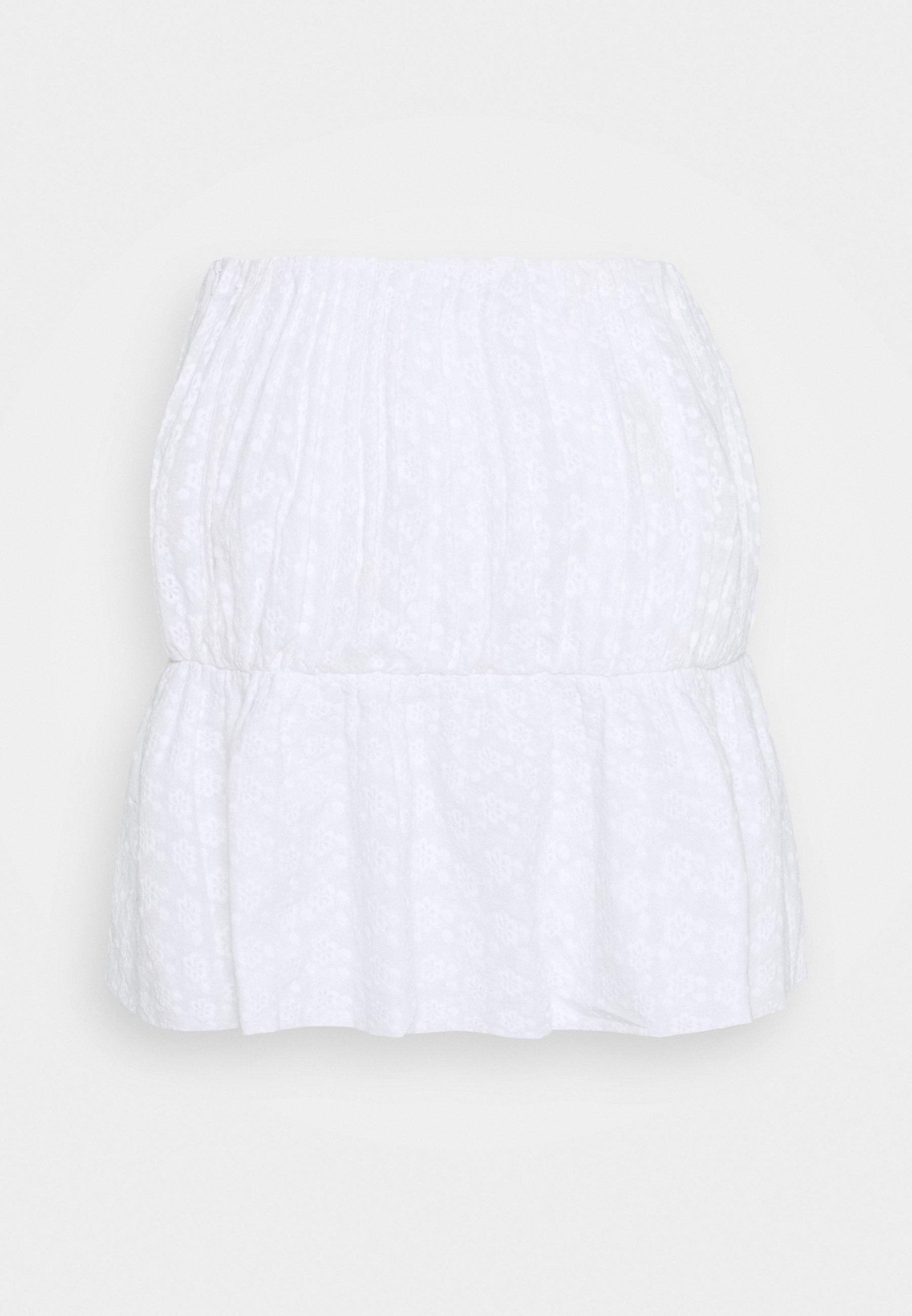 Femme EMBROIDERED MINI SKIRT - Minijupe
