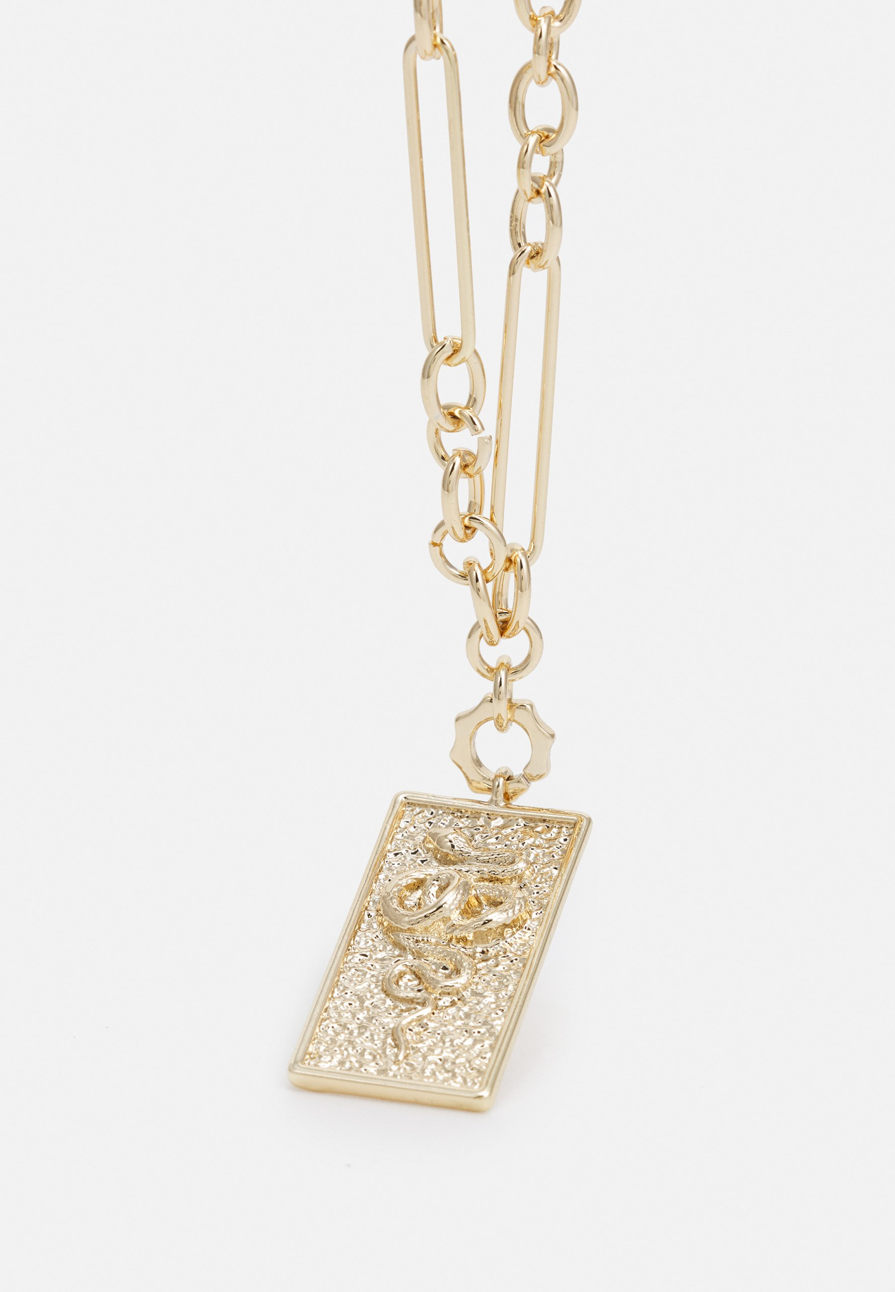 Homme SNAKE TAG NECKLACE - Collier
