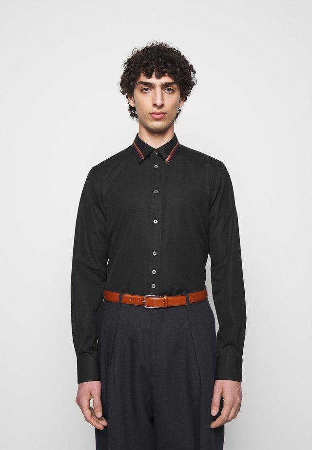 GENTS SLIM - Camicia - black