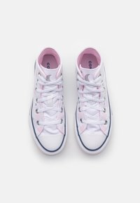 Converse - CHUCK TAYLOR ALL STAR UNISEX - High-top trainers - white/pink/black - 3
