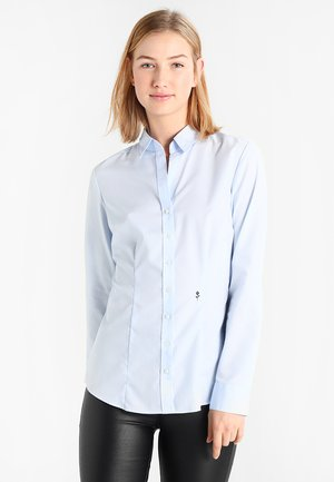 SCHWARZE ROSE - Button-down blouse - dark blue