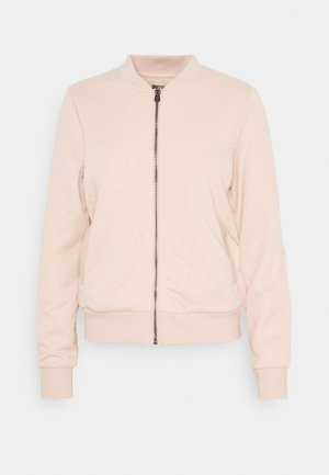 ONLJOYCE - Sweatjacke - rose smoke