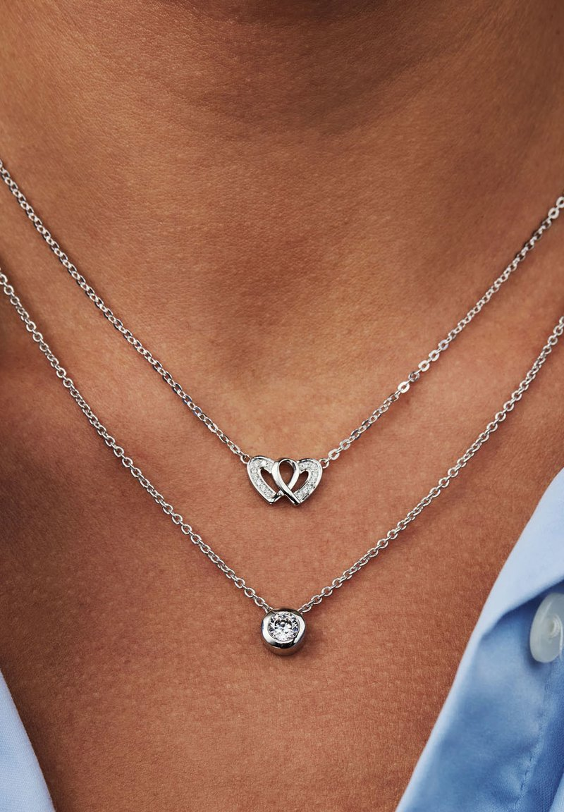 Selected Jewels - Halsband - silber