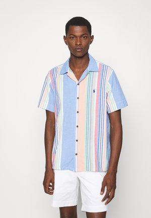 BEACH - Shirt - blue/orange