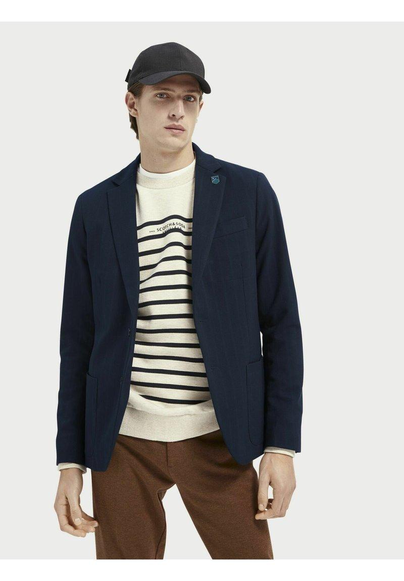 Scotch & Soda - Blazer jacket - navy