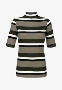 Laura Kent - Print T-shirt - schilf dunkelgrün - 2