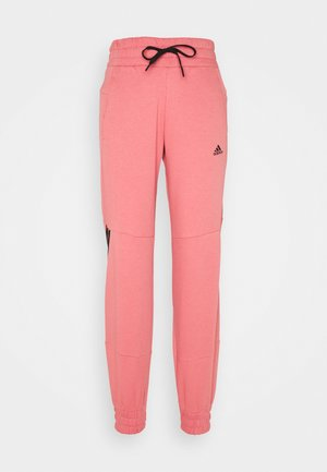 Tracksuit bottoms - hazy rose/black