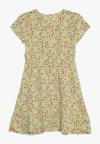 Kids ONLY - KONTHYRA FAKE WRAP DRESS - Denní šaty - popcorn - 1