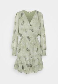 PAISLEY DRESS - Day dress - army green