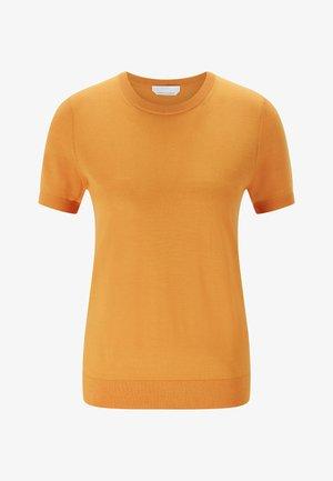 FALYSSA - Basic T-shirt - open yellow