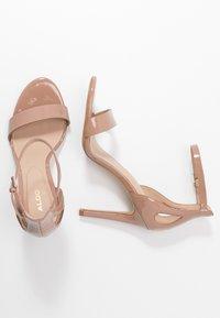 ALDO - VIOLLA - Sandaler med høye hæler - bone - 3