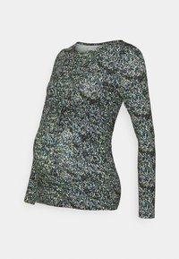 MAMALICIOUS - MLVALENTINA - Bluzka z długim rękawem - black - 4