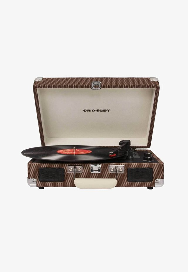 PLATTENSPIELER CRUISER DELUXE - Record player - tweed