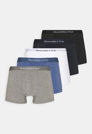 MULTIPACK SOLIDS 5 PACK - Culotte - white/blue navy/grey/black