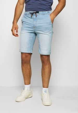 Denim shorts - denim light blue