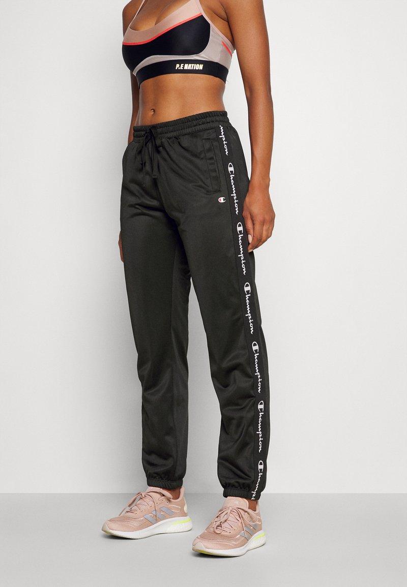 Champion - ELASTIC CUFF PANTS - Tracksuit bottoms - black