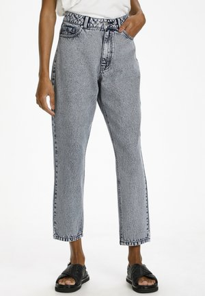 Relaxed fit jeans - light blue acid wash