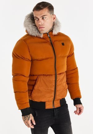 RIP STOP DISTANCE JACKET - Winter jacket - brown