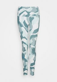 Under Armour - RUSH CAMO LEGGING - Leggings - seaglass blue - 3