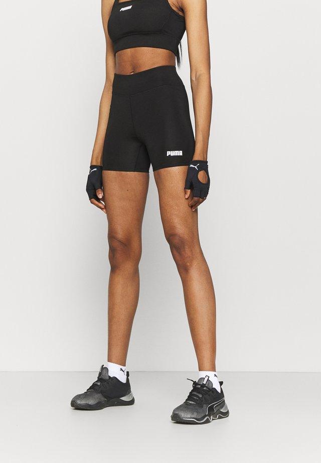 PAMELA REIF X PUMA MID WAIST SHORT - Leggings - black
