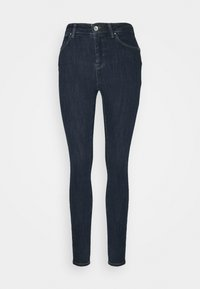 ONLY - ONLPOWER MID PUSH UP - Jeans Skinny - dark blue denim - 4