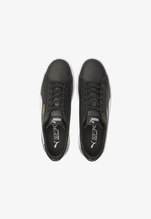 TRAINERS  - Sneakers - black-white-puma team gold