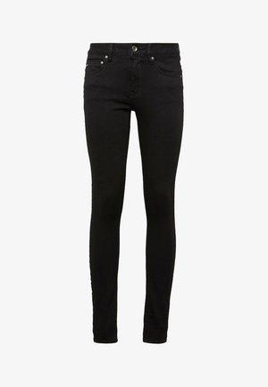 MIDGE ZIP MID SKINNY - Jeans Skinny Fit - pitch black