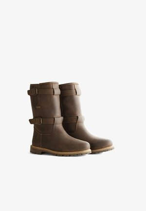 POLARIS - Snowboots  - dark brown