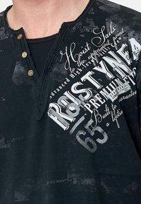 Rusty Neal - Print T-shirt - schwarz - 1
