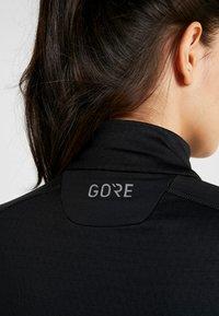 Gore Wear - THERMO ZIP  - Sports shirt - black - 5