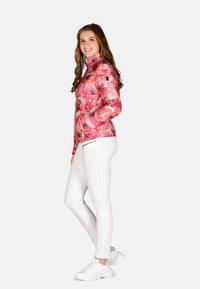 Cero & Etage - Winter jacket - pink flower - 1