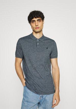 Koszulka polo - mottled blue