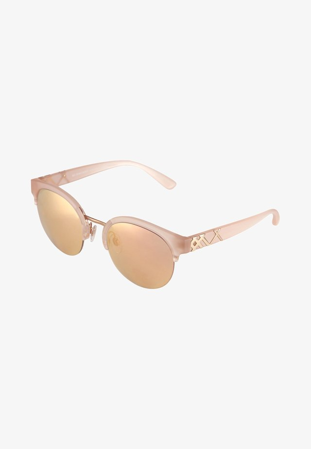 Sunglasses - matte pink/gold