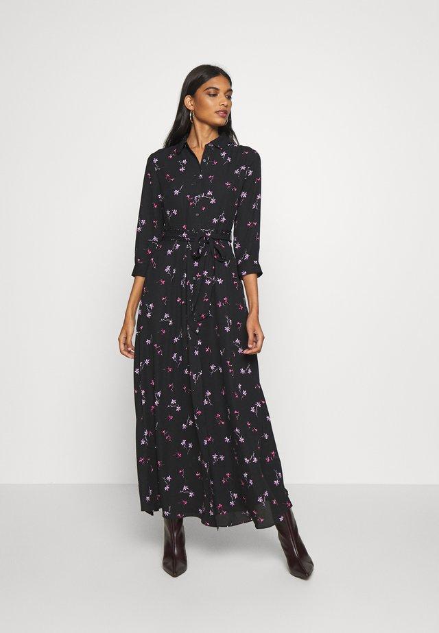 SAVANNAH SOFT - Maxi šaty - black