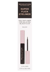 Make up Revolution - SUPER FLICK EYELINER - Eyeliner - black - 1