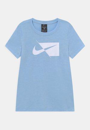 Camiseta estampada - psychic blue/white